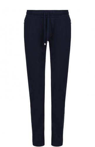 Хлопковые брюки прямого кроя Capobianco