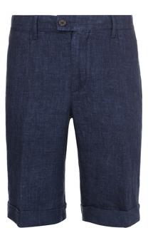 Льняные шорты с карманами Cortigiani