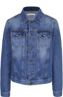 Джинсовая куртка на пуговицах 2 Men Jeans
