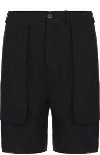 Льняные шорты с карманами Masnada