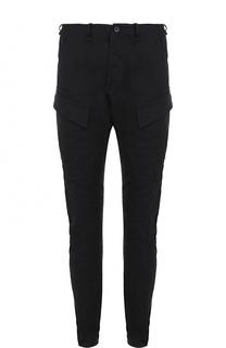 Хлопковые брюки карго Masnada