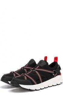 Комбинированные кроссовки с ремешками Dior
