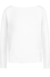 Блуза прямого кроя с открытой спинкой и бантом Polo Ralph Lauren