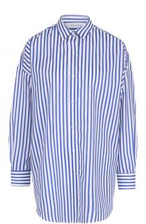 Блуза свободного кроя в контрастную полоску Iro