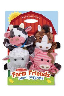 "Плюшевые куклы на руку ""Ферма"" Melissa & Doug"