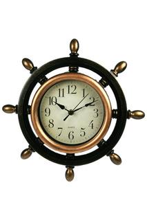 """Часы настенные """"Штурвал"""" Русские подарки"""