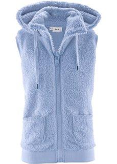 Флисовый жилет (жемчужно-синий) Bonprix