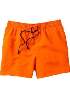 Купальные плавки-шорты Regular Fit (темно-оранжевый) Bonprix