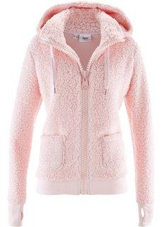 Куртка из плюшевого флиса (жемчужно-розовый) Bonprix