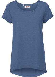 Легкая футболка с коротким рукавом (индиго) Bonprix