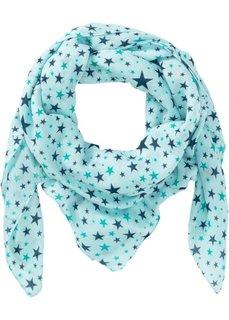 Платок со звездным принтом (серо-синий) Bonprix