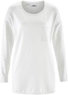 Свитшот в стиле оверсайз (цвет белой шерсти) Bonprix