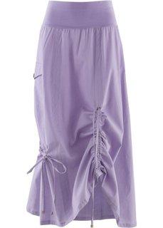 Льняная юбка (сиреневый) Bonprix