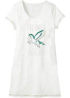 Ночная сорочка (кремовый с рисунком) Bonprix
