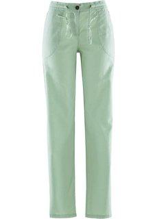 Льняные брюки (светлый камыш) Bonprix
