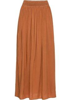 Макси-юбка (коричневый) Bonprix