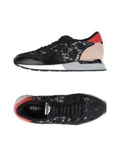 Низкие кеды и кроссовки Poletto