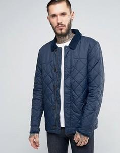 Темно-синяя стеганая куртка Jack Wills - Темно-синий