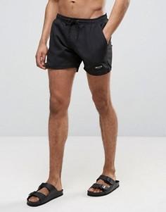 Черные шорты для плавания Nicce London - Черный