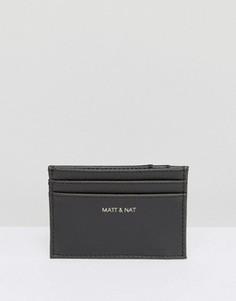 Визитница Matt & Nat Max - Черный