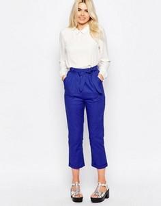 Льняные брюки The Whitepepper - Синий