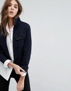 Джинсовая куртка на молнии Lee - Синий