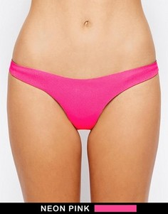 Классические бесшовные плавки бикини N.L.P - Розовый