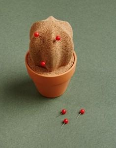 Пробковый кактус-органайзер для рабочего стола - Мульти Gifts