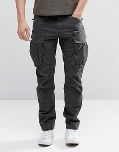 Суженные брюки карго с молниями G-Star Rovic 3D - Черный