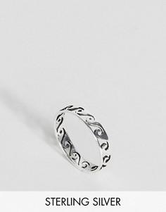 Серебряное кольцо на большой палец ASOS - Серебряный