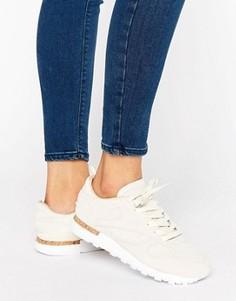 Классические кожаные кроссовки с пробковой вставкой на подошве Reebok Lst - Мульти