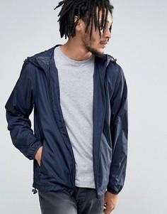 Легкая куртка с капюшоном Esprit - Темно-синий