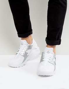 Белые кроссовки Nike Huarache Run 318429-108 - Белый
