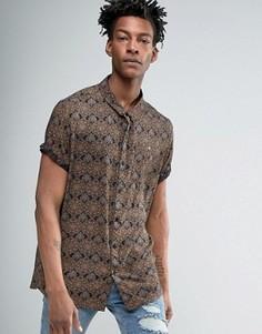 Рубашка Rollas Dark Sun - Черный Rollas
