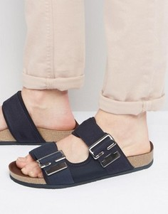 Черные сандалии с пряжками G-Star Command - Черный
