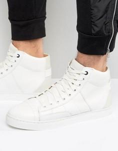 Белые высокие кроссовки G-Star Stanton - Белый