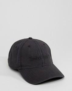 Черная бейсболка с логотипом Timberland - Черный