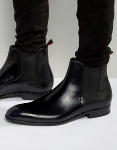 Блестящие ботинки челси HUGO by Hugo Boss Dressapp - Черный