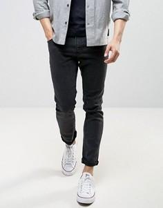 Черные выбеленные облегающие джинсы LDN DNM - Черный