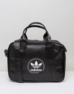 Перфорированная сумка Adidas - Черный
