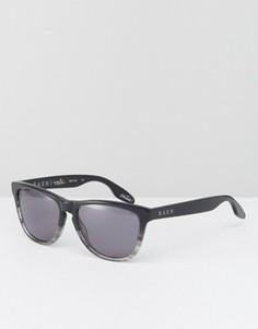 Черные квадратные солнцезащитные очки Raen Vista - Черный