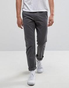 Серые брюки чиносы Vans Authentic VA3144GRX - Серый