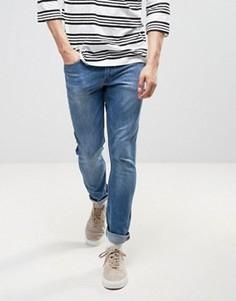 Синие джинсы с напылением Kubban - Синий