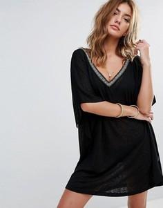 Платье мини Pitusa Desert - Черный
