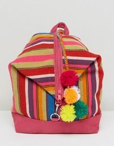 Рюкзак с помпоном Pitusa - Мульти