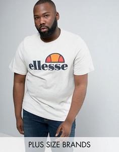 Футболка с классическим логотипом Ellesse PLUS - Stone