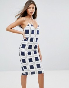 Облегающее платье миди Talulah Paramount - Темно-синий