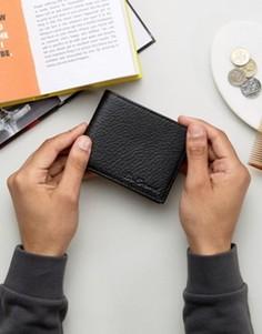 Кожаный бумажник Ben Sherman - Черный