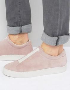 Замшевые кроссовки со вставкой Religion - Розовый