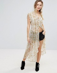 Топ-туника Free People Lady Avalon - Белый